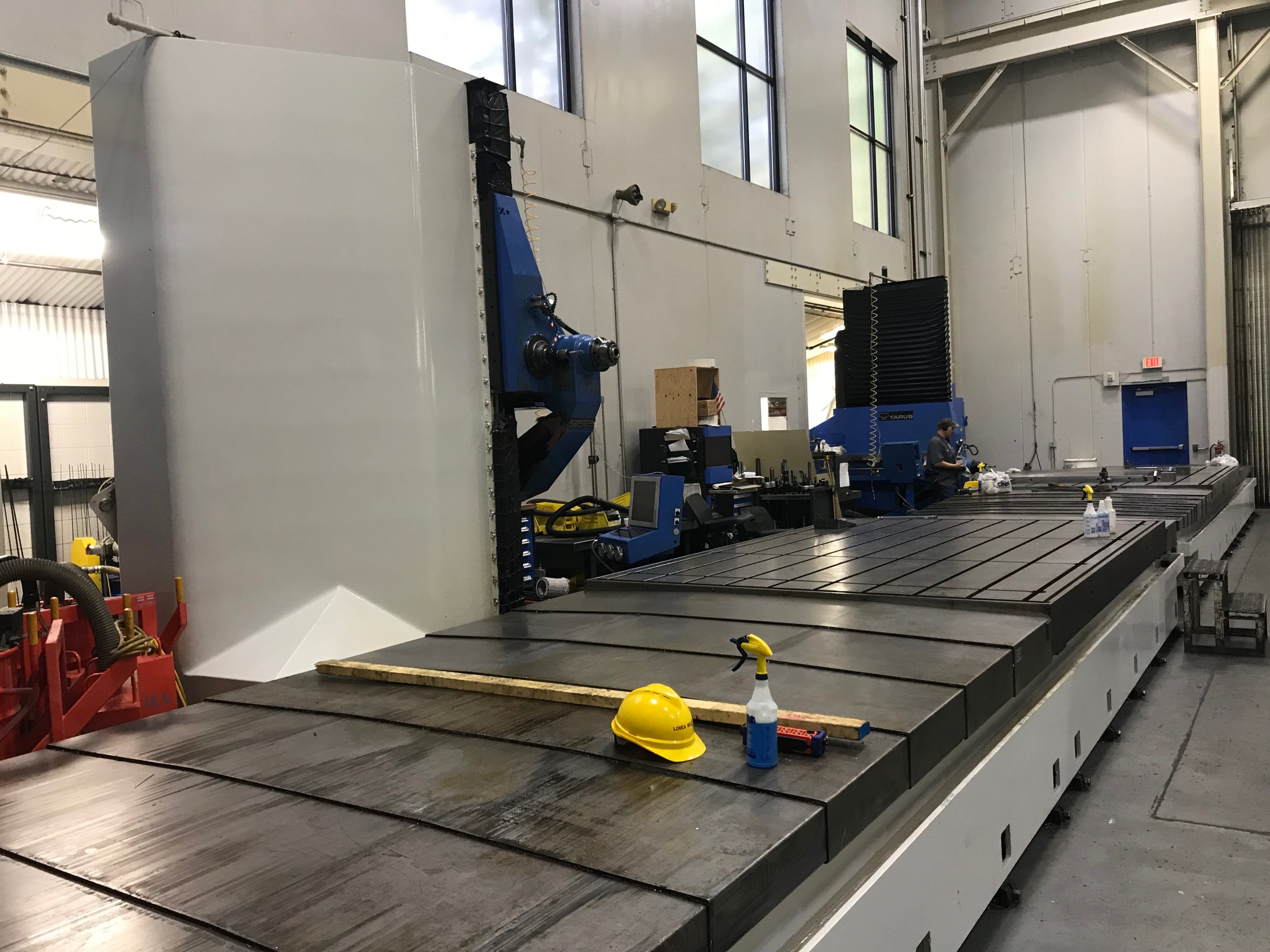 TARUS MODEL TPTCGD512S, 4-AXIS Dual CNC Gun Drilling System (sharing a Centralized Coolant System) - Image 5 of 15