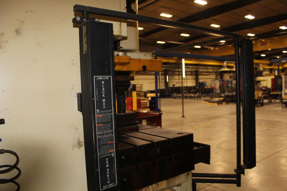 "Stamtec G1-260 Gap Frame Press, 286 Tons, 20-40 SPM, 59"" x 33"" Bed, Air Clutch / Brake - Image 9 of 9"