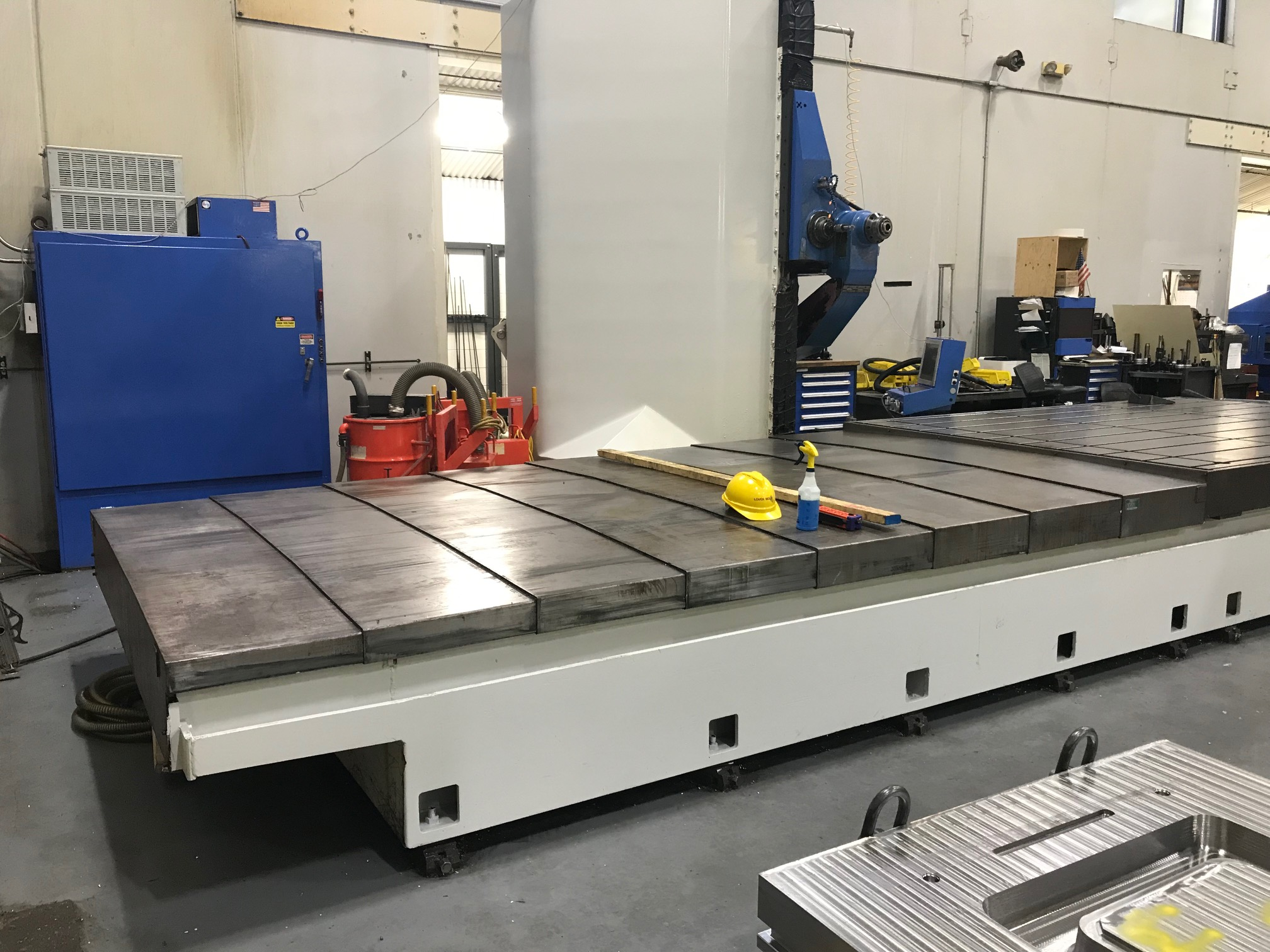 TARUS MODEL TPTCGD512S, 4-AXIS Dual CNC Gun Drilling System (sharing a Centralized Coolant System) - Image 4 of 15