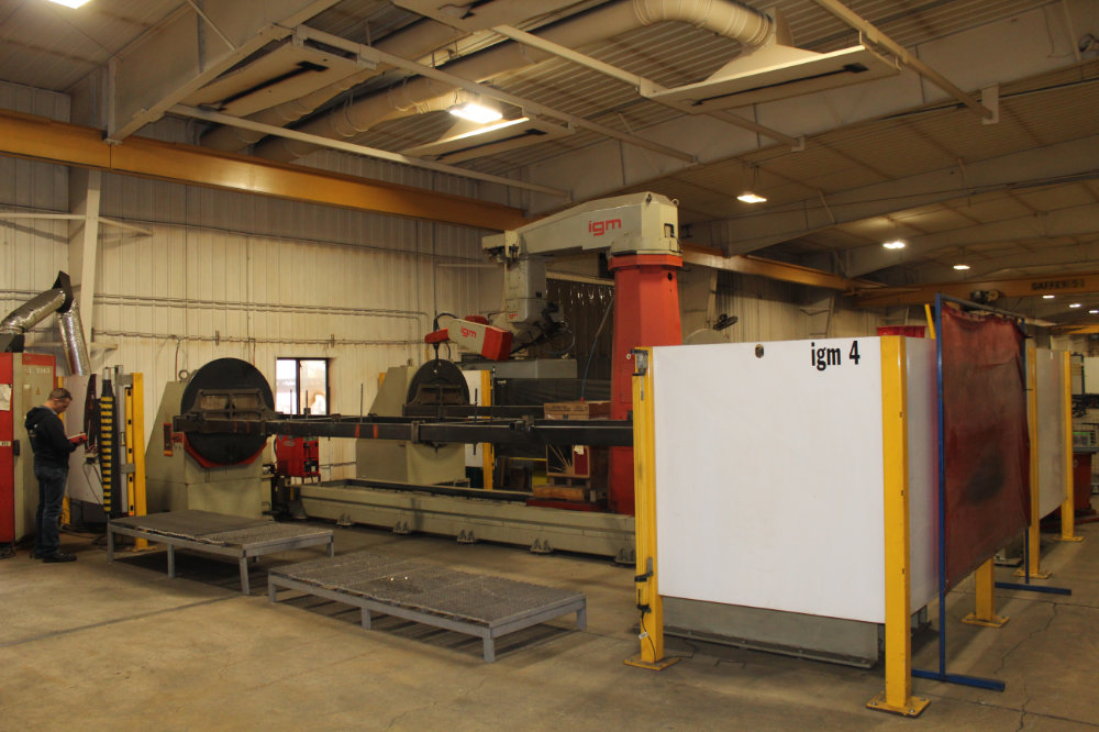 IGM / Messer RTS1-1500 Travelling Column Robotic Welder with Dual IGM Rotating Fixtures - Image 2 of 8