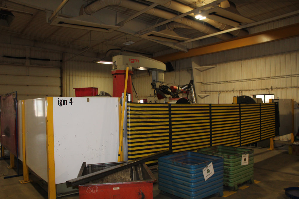 IGM / Messer RTS1-1500 Travelling Column Robotic Welder with Dual IGM Rotating Fixtures - Image 3 of 8