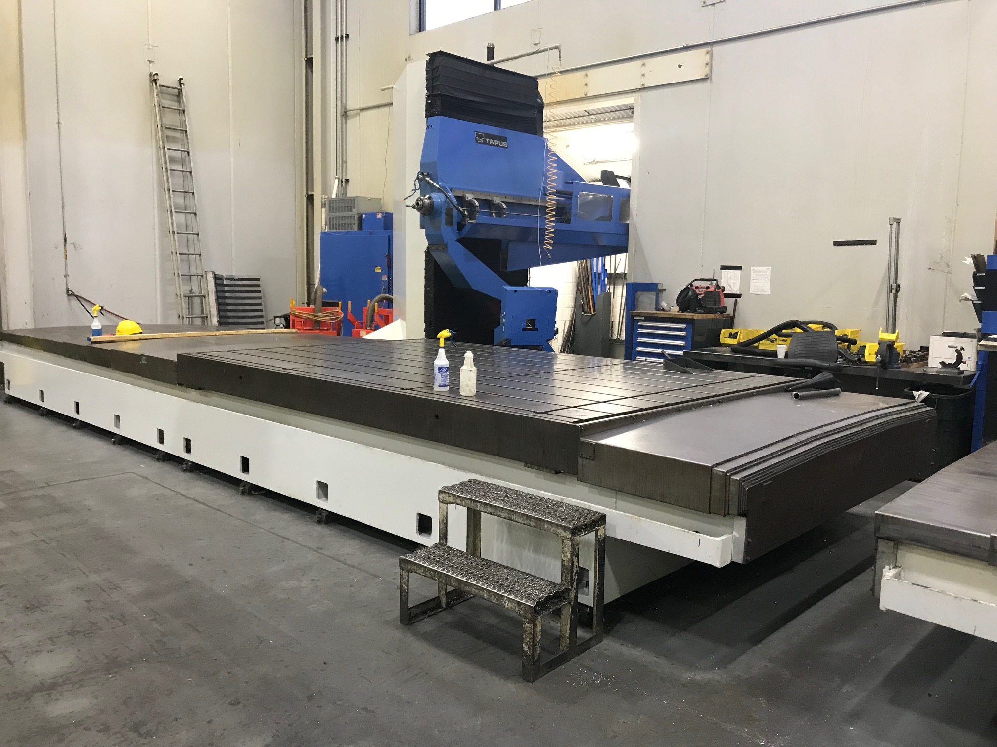 TARUS MODEL TPTCGD512S, 4-AXIS Dual CNC Gun Drilling System (sharing a Centralized Coolant System) - Image 2 of 15