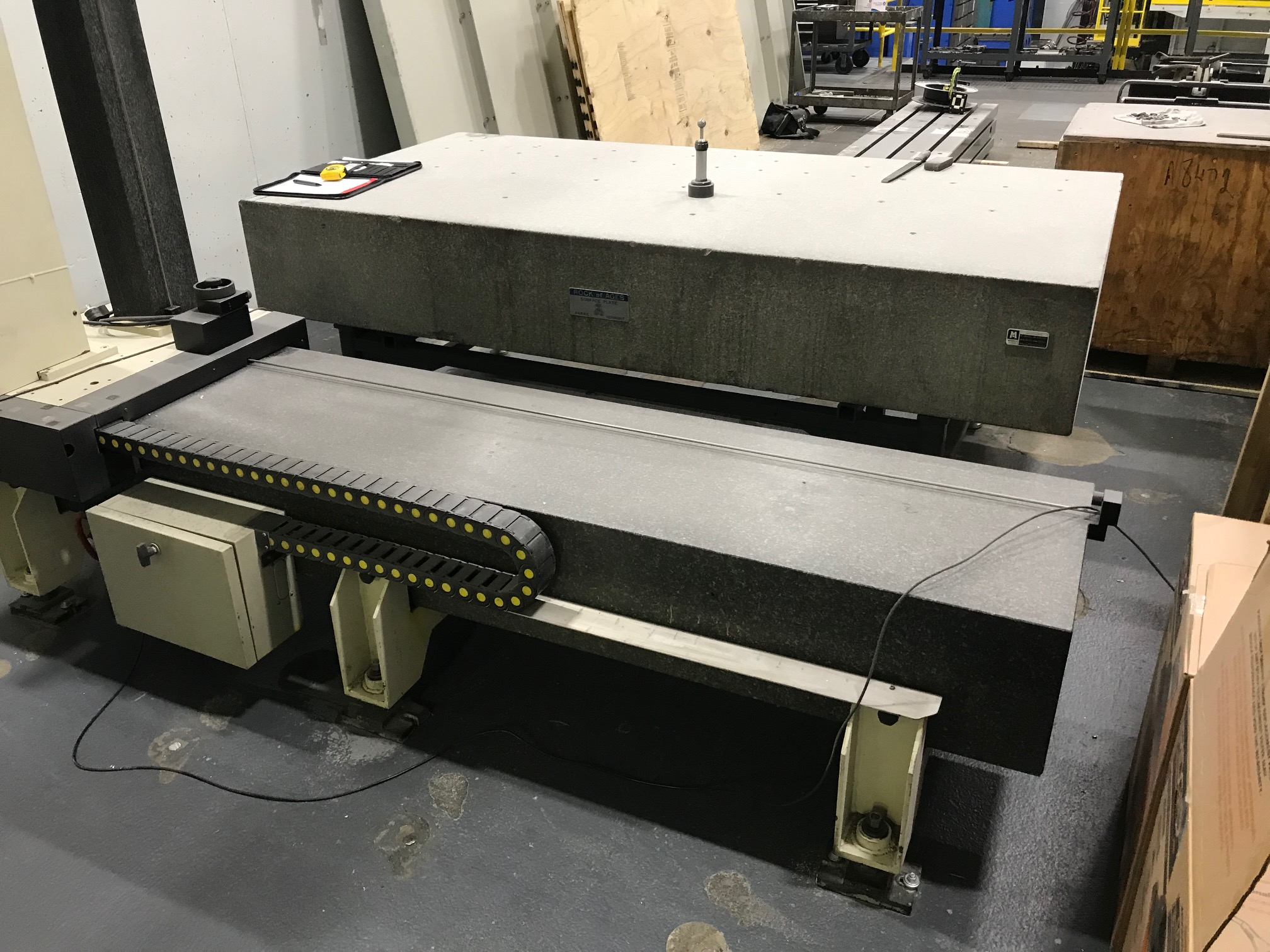 """Poli Globo Coordinate Measuring Machine with 96"""" x 48"""" Granite Surface Plate, CMM Manager Software - Image 2 of 8"""
