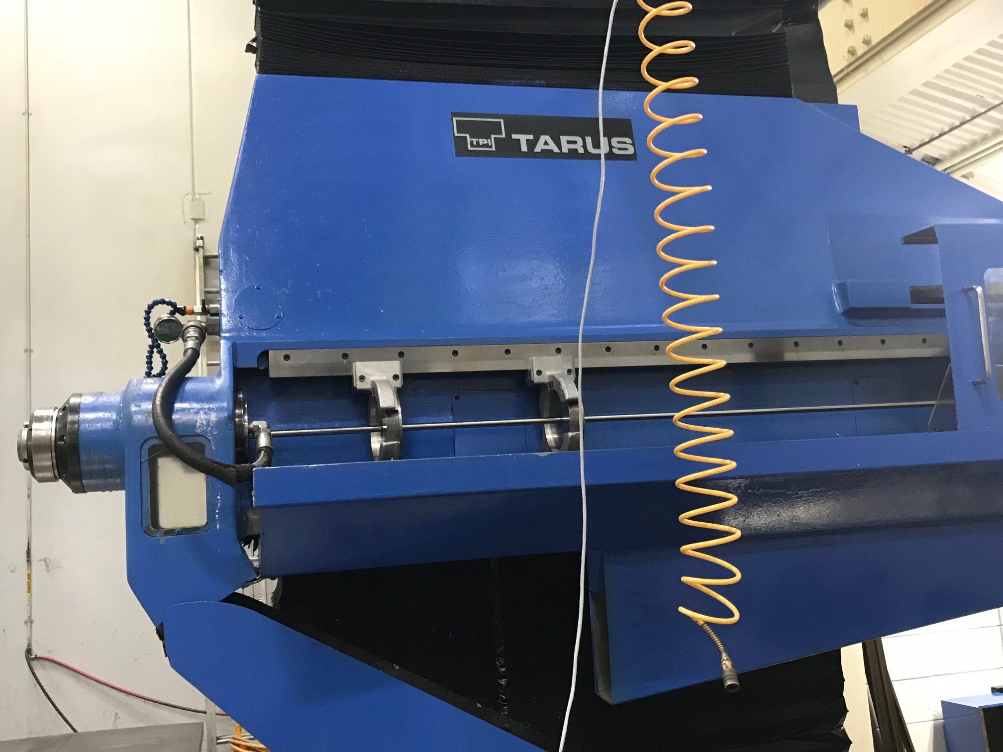 TARUS MODEL TPTCGD512S, 4-AXIS Dual CNC Gun Drilling System (sharing a Centralized Coolant System) - Image 8 of 15