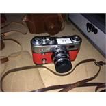 A FED QED3 camera serial no.