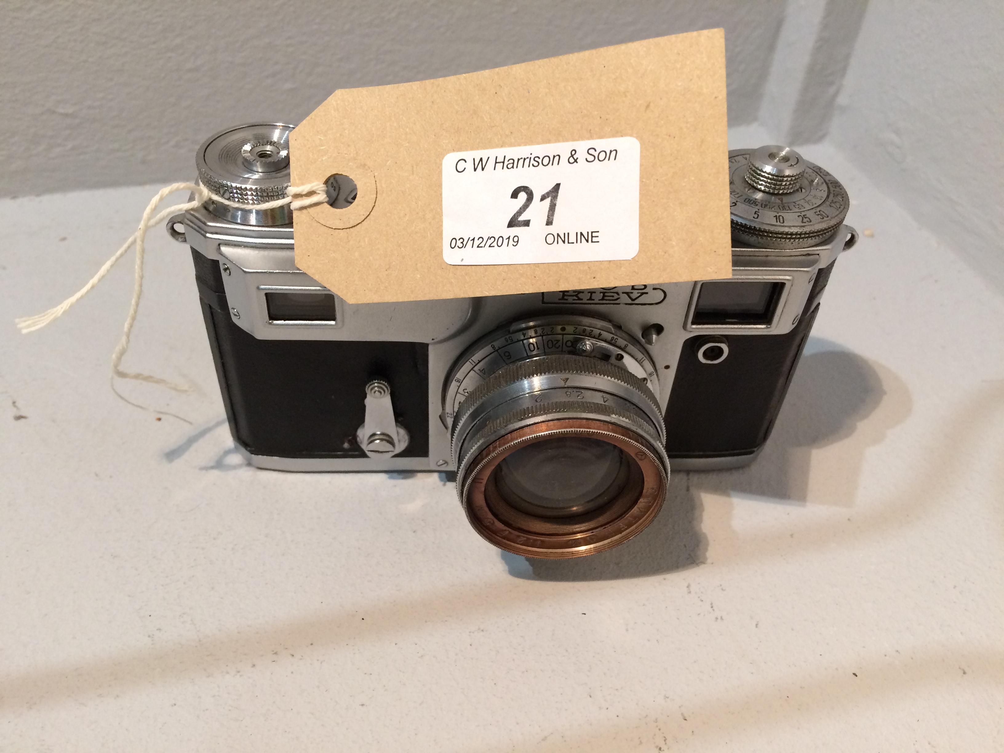 Lot 21 - Web Kiev camera with 1..