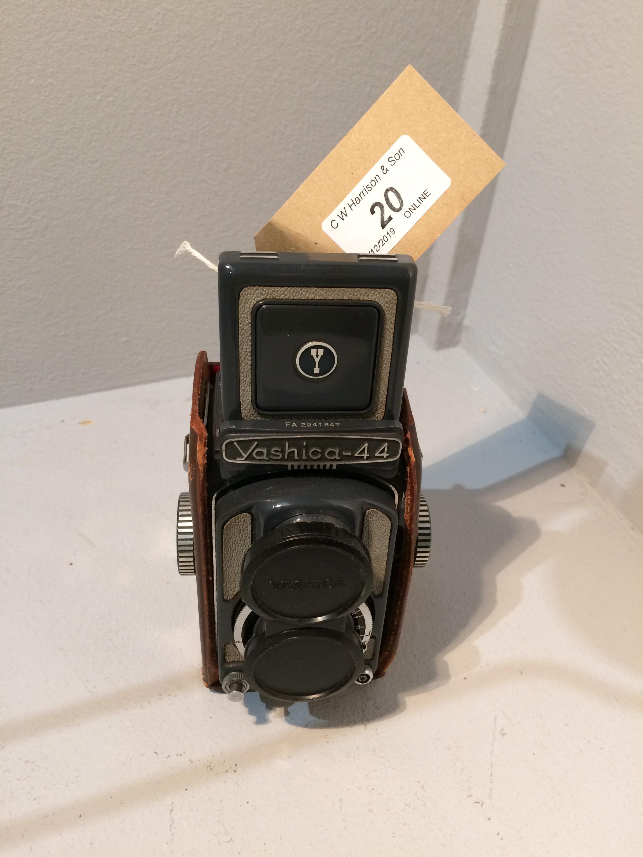 Lot 20 - Yashica 44 Copal camera Yashikor 1..3.