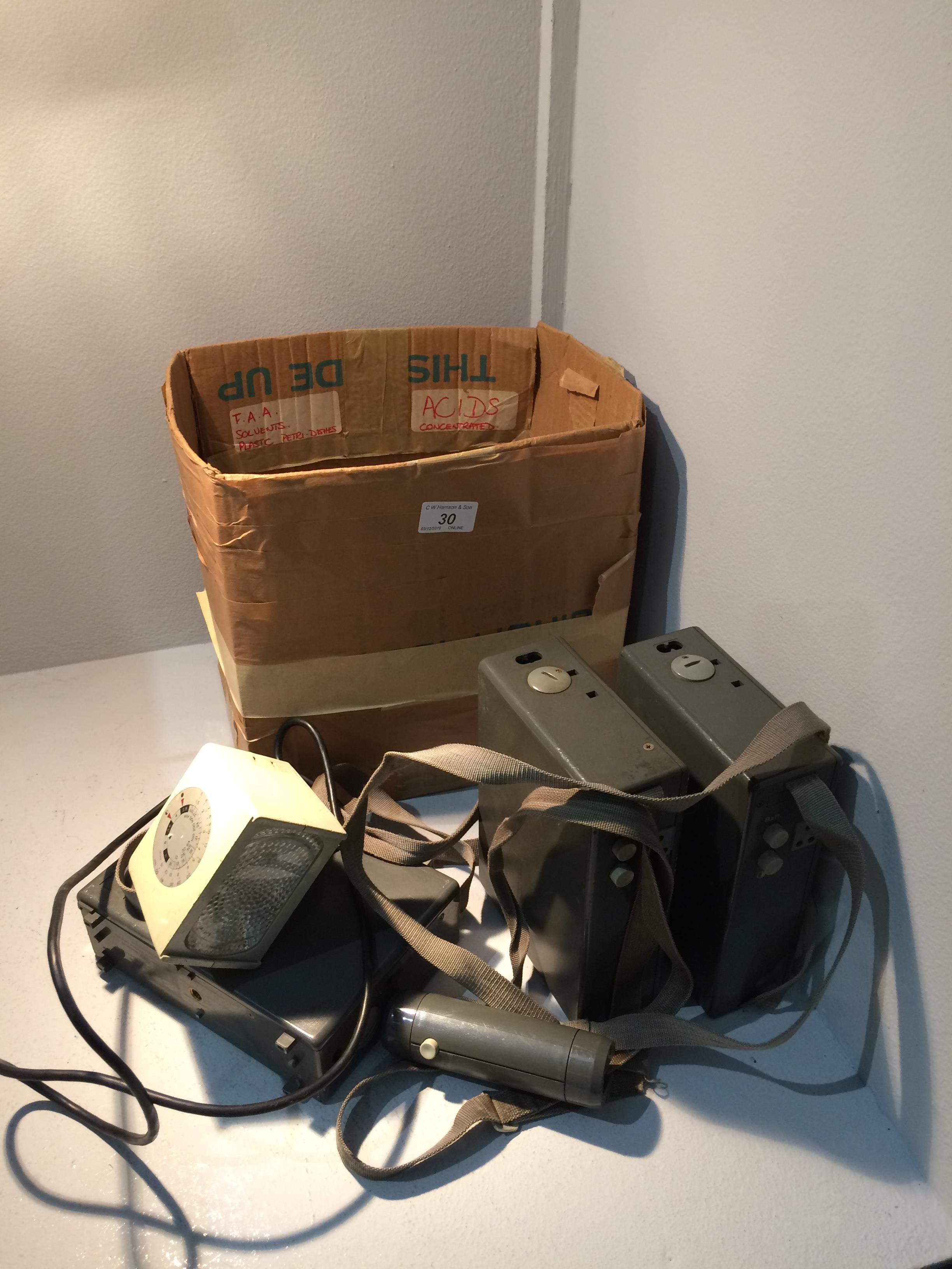 Lot 30 - 3 x Braun Hobby EF300 electronic flash outfits