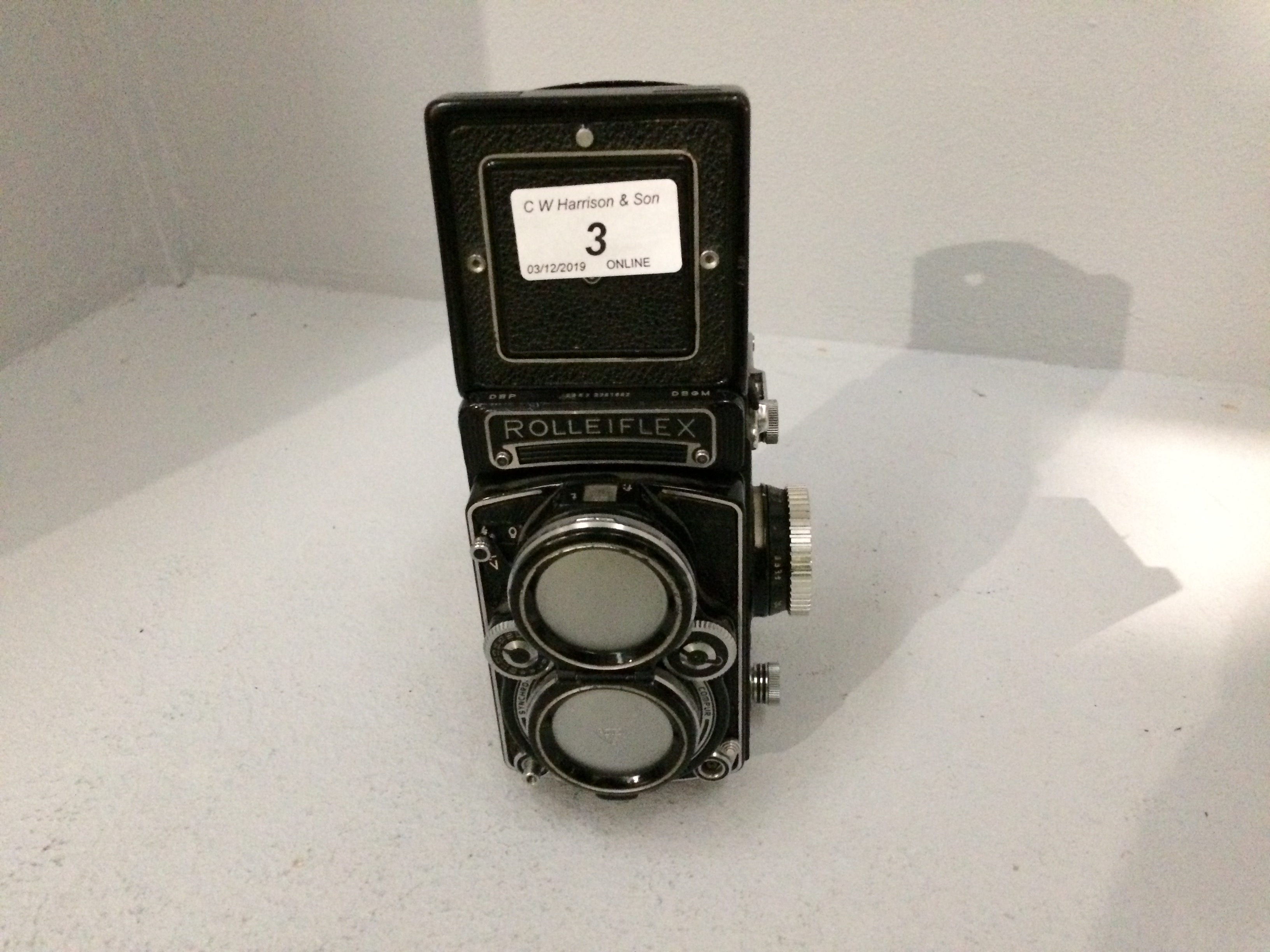 Lot 3 - Rolleiflex Franke & Heidecke film camera, 1..