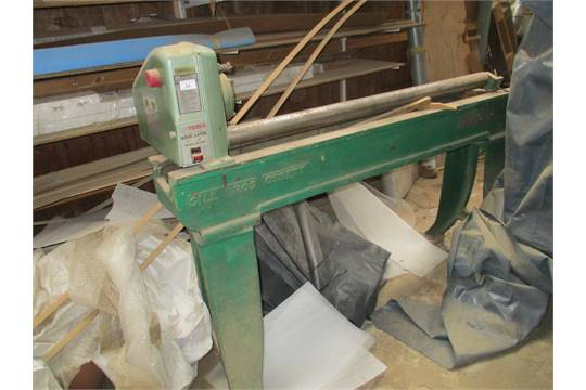 Nu Tools model 126A wood lathe - 240v on metal stand (in