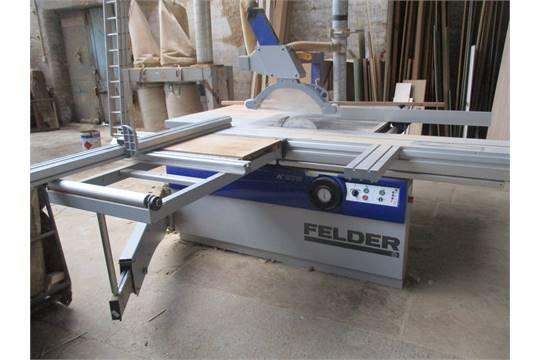 FELDER K975 3 2m DIMENSION SAW s/no 430 05 247 06 YOM 2006