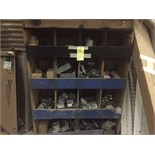LOT OF ELECTRICAL SUPPLIES: outlet boxes, fittings, clamps, telescopic power polls, etc.