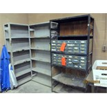 LIGHT GAUGE METAL SHELVING SECTIONS (3)