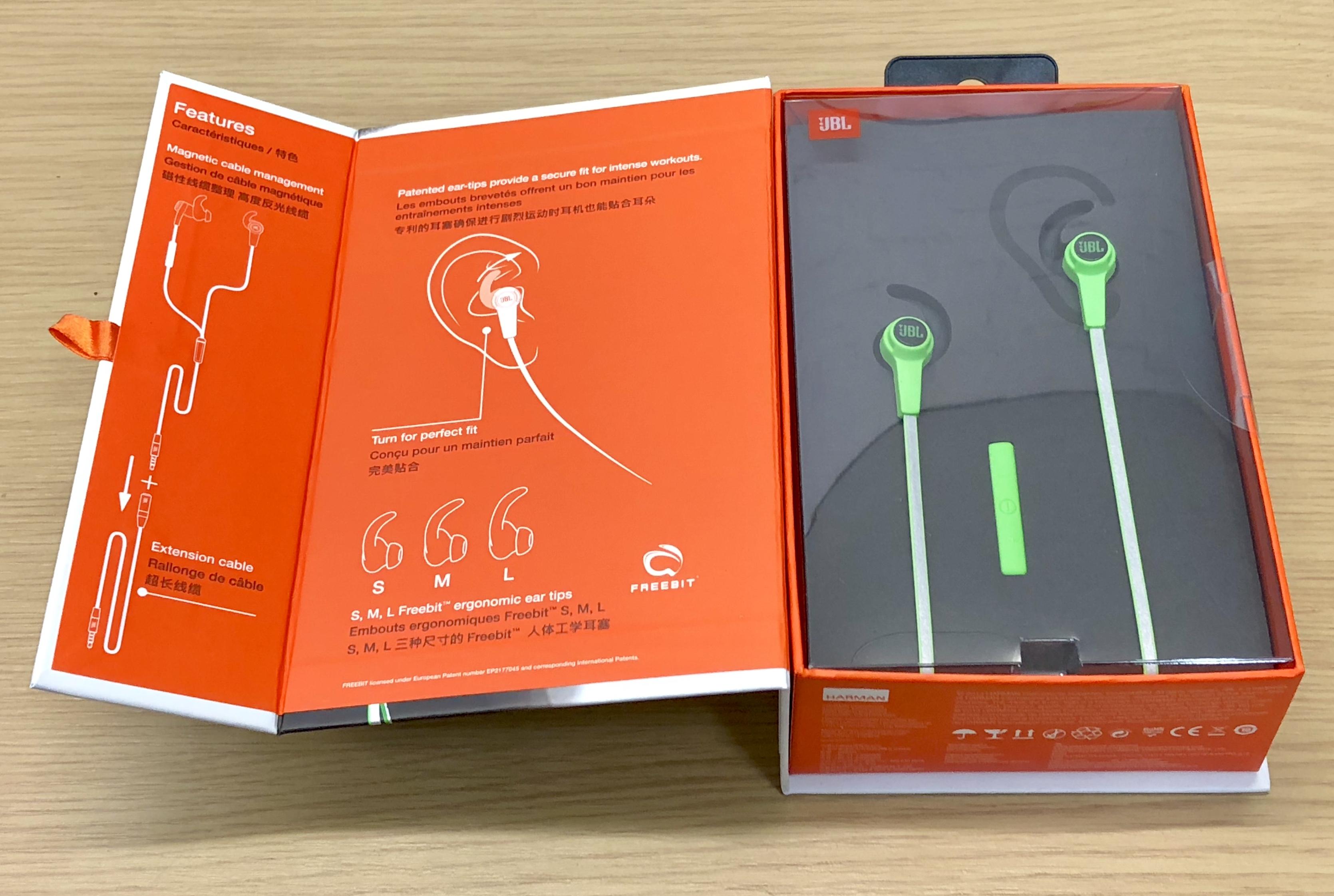 Lot 50022 - V Brand New JBL Synchros Reflect In-Ear Sport Headphones - ISP £59.00 (Mobicity UK) - Reflective for