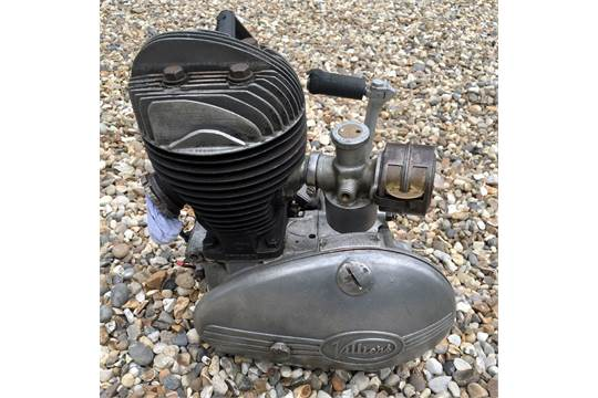 Spare Villiers 197 2-stroke- With carb and gearbox