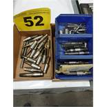 LOT OF TAPS AND EJECTORS PINS