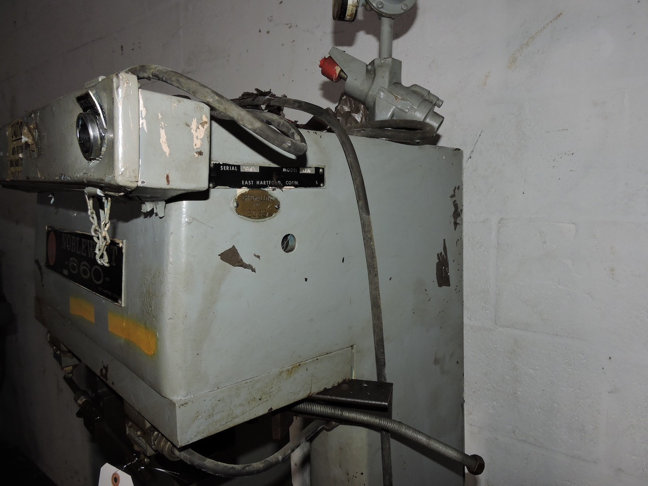 Lot 16 - NOBLEWEST 660 SERIES MARKING MACHINE