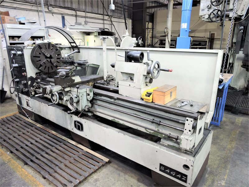 "Lot 1A - NARDINI MODEL SZ2580T 25"" x 80"" GEARED HEAD ENGINE LATHE"