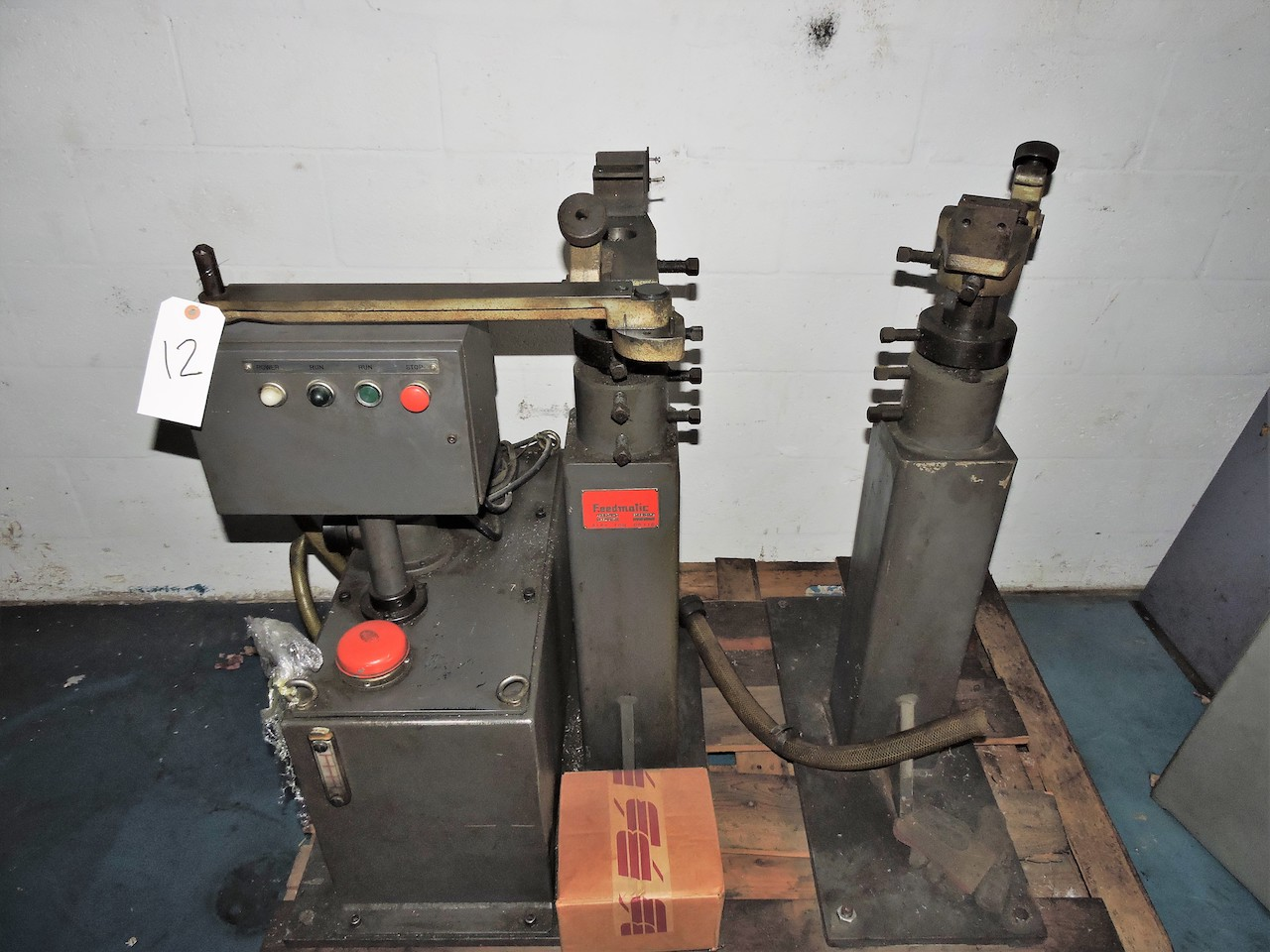 Lot 12 - FEEDOMATIC LATHE BARFEED SYSTEM ASRP34-3 SERIES