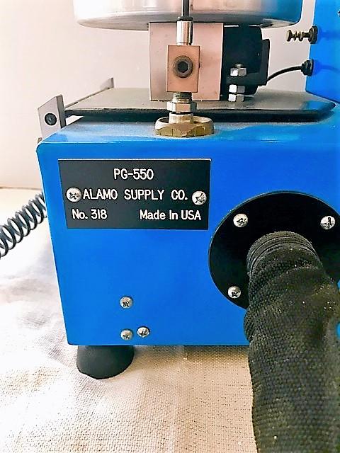 Lot 13B - ALAMO SUPPLY MODEL PG-550 PLASMA SPRAY SYSTEM