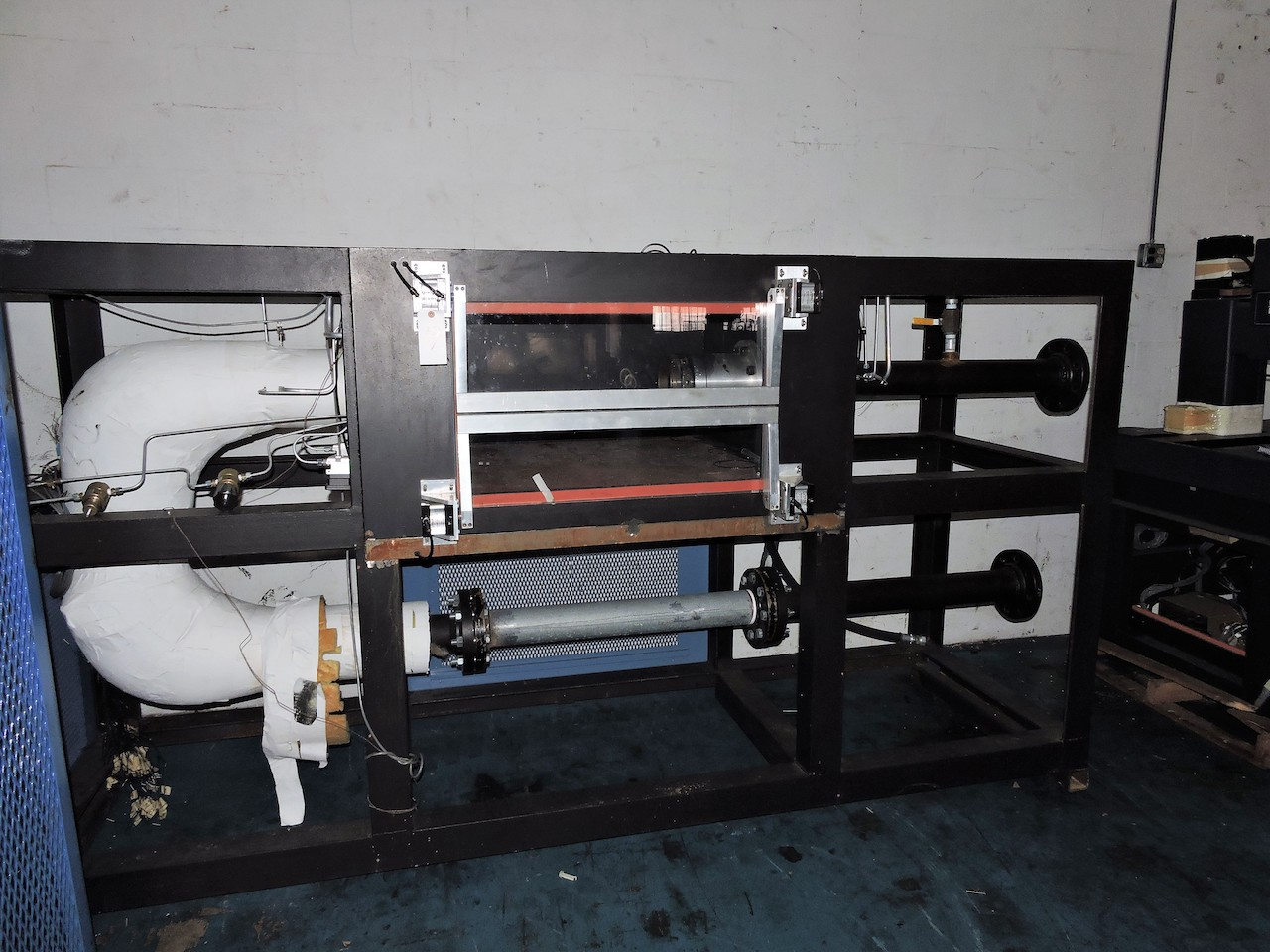 Lot 19 - HEAT EXCHANGER TEST STAND FROM HIGH STANDARD WITH ALL COMPONENTS NEW BLOWER