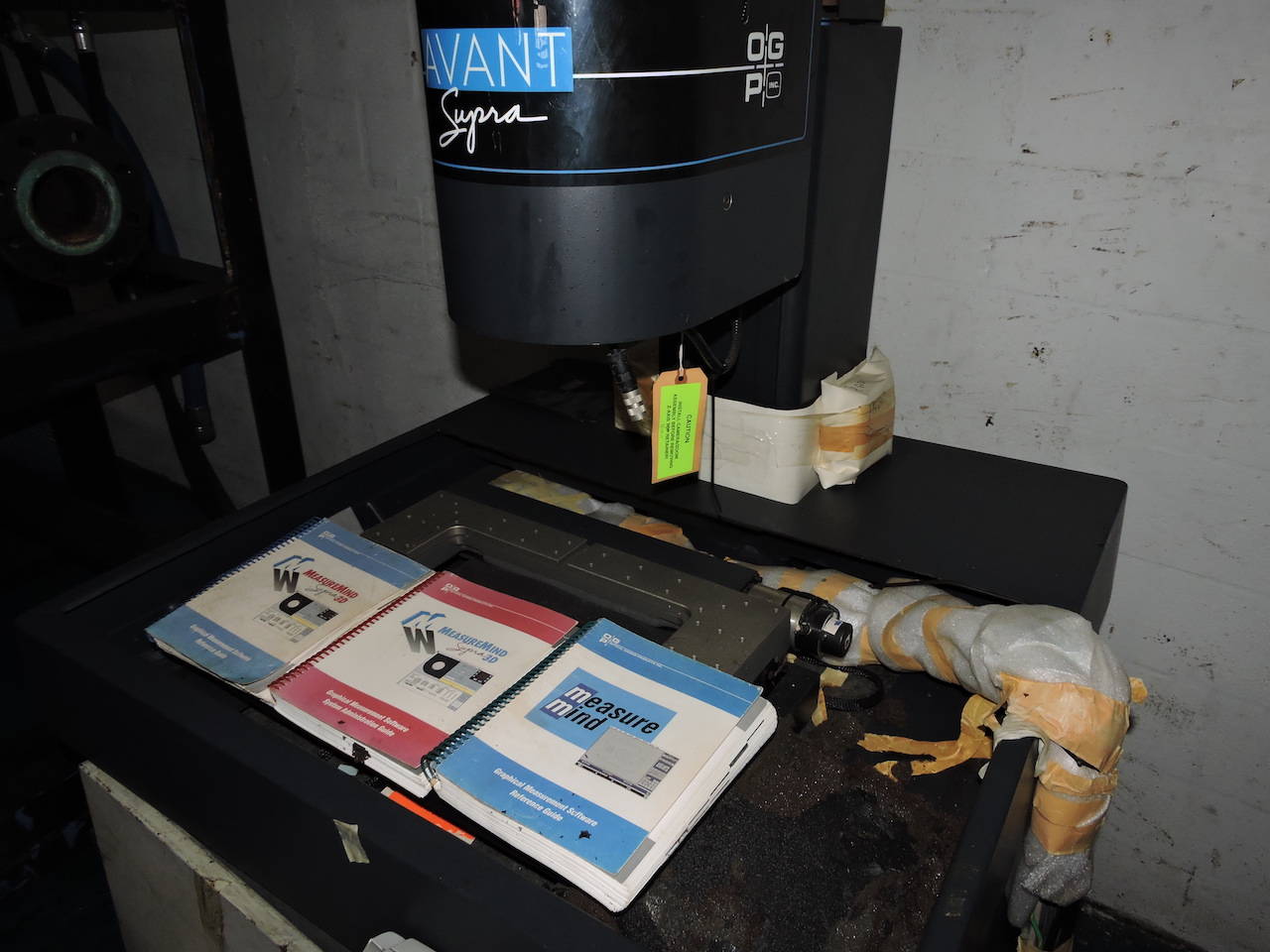 Lot 18 - AVANT SUPRA 250 OPTICAL GAUGING SYSTEM, WITH MANUALS