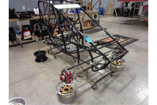 Interesting. midget race car chassis for support