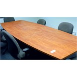 9 FT. CONFERENCE TABLE & 6 CHAIRS