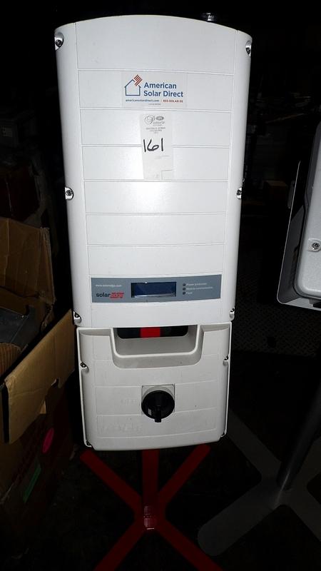 Lot 161 - SOLAR EDGE POWER STRING INVERTER w/ BASE