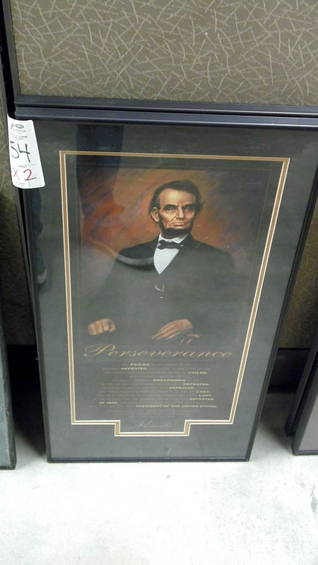 Lot 54 - LINCOLN PERSERVERANCE PICTURE
