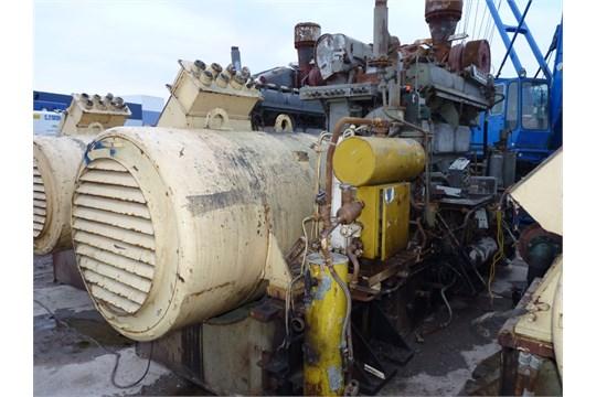 DEUTZ MWM TYPE TBD 444-L6 DIESEL MARINE ENGINE GENERATOR SET