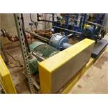 (2) RotoJet high pressure pumps, mod. RIII2X2, 40 hp, 40 gpm ea., skid mounted c/w control