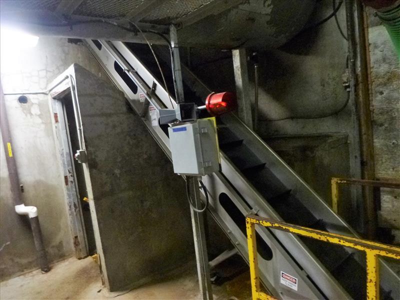 Lot 2498 - incline conveyor (Waste Transfer)