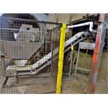 rotoscreen lift incline conveyor, s/s, 9 in. x 10 ft (Waste Transfer)