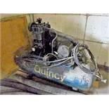Quincy air compressor, 3 hp (not in service) (mechanic shop, 2nd floor)