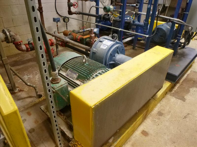 Lot 2462A - RotoJet high pressure pumps, mod. RIII2X2, 40 hp, 40 gpm (not in service)(sanitation)