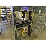 PowerFist hydraulic press, 50 ton(mechanic shop)