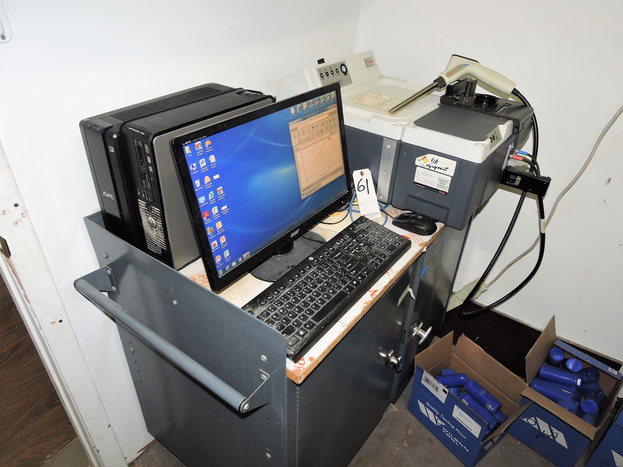 Lot 61 - THERMO SCIENTIFIC ANTARIS II FT-NIR ANALYSER: WITH SABIR FIBER OPTIC PROBE