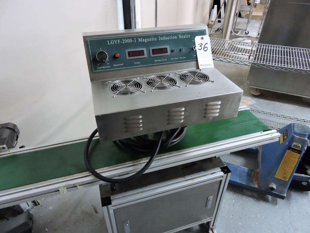 Lot 36 - LGYF 2000 I MAGNETIC INDUCTION SEALER
