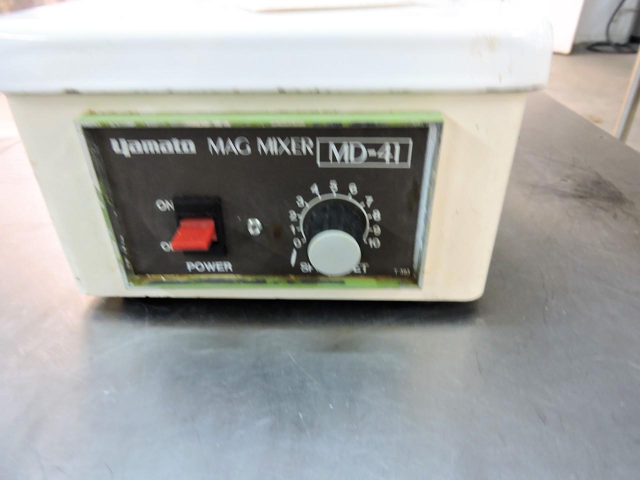 Lot 14 - YAMATO SCIENTIFIC MODEL MD41 MAGNETIC MIXER
