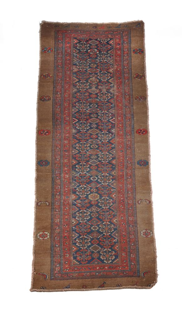 A North West Persian runner, small North West Persian rug and a Kashan rug - Image 3 of 4