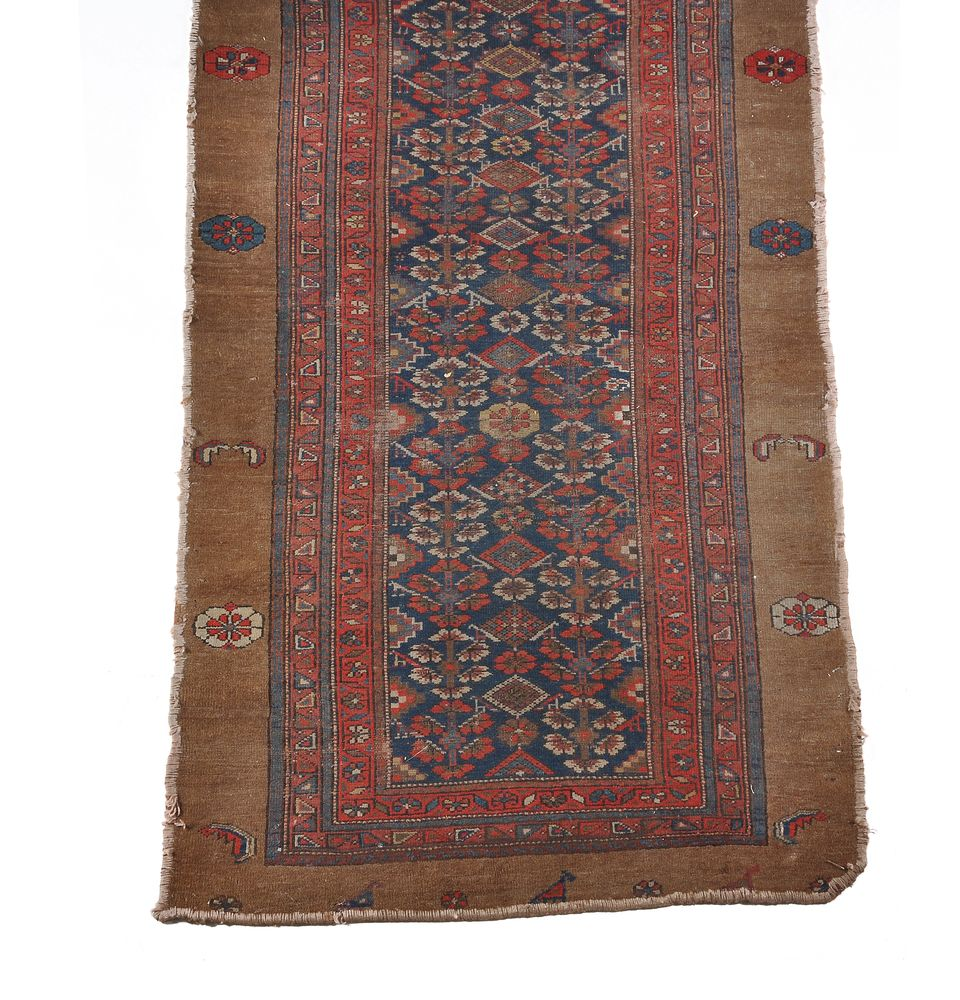 A North West Persian runner, small North West Persian rug and a Kashan rug - Image 4 of 4