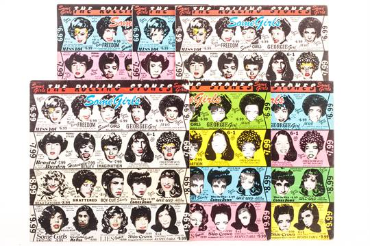 The Rolling Stones: Some Girls - six albums with sleeve