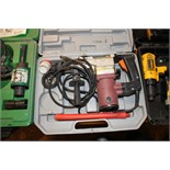 ROTARY HAMMER, INDUSTRIAL MDL. 143384, w/carrying case  (Location D)