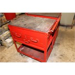 ROLLING TOOL CABINET, w/drawers  (Location D)