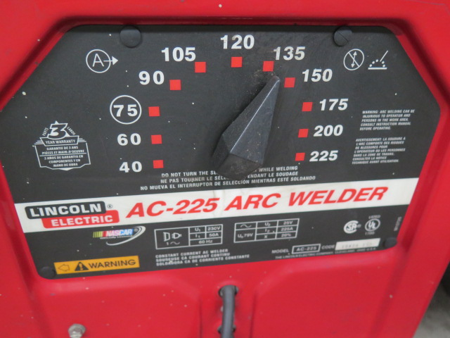 Lincoln AC-225 Stick Welder - Image 2 of 4