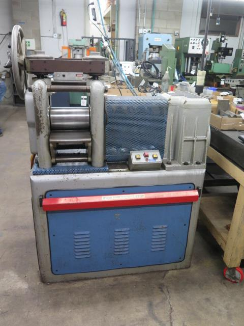"F.LLi Cavallin mdl. MG20 8"" Rolling Mill w/ Water Cooled Rolls"