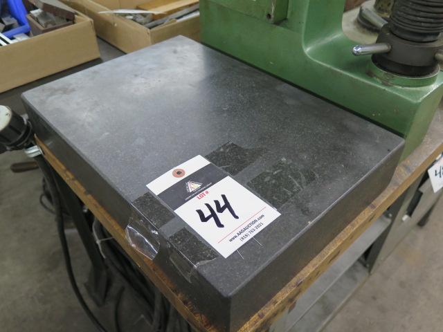 "12"" x 18"" x 3"" Granite Surface Plate"