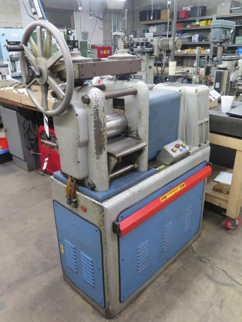 "F.LLi Cavallin mdl. MG20 8"" Rolling Mill w/ Water Cooled Rolls - Image 2 of 9"