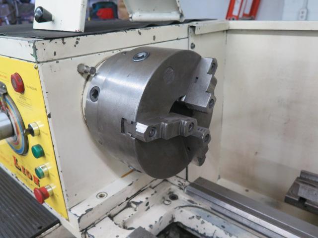"Lion C11MT 20"" x 46"" Geared Head Gap Bed Lathe s/n 17047 w/ 19-2400 RPM, Taper Attachment, - Image 9 of 16"